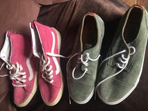 2 PAIRS VANS BARELY WORN in Yucca Valley, California