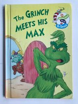 RARE Vintage 1998 The Grinch Meets His Max The Wubbulous World of Dr Seuss Hard Cover Book Age R... in Joliet, Illinois