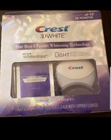 Crest 3Dwhite strips with light in Beaufort, South Carolina