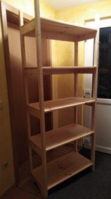Sturdy, Solid Wood Shelves in Spangdahlem, Germany