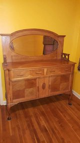 Antique Oak Buffet/sideboard in Fort Leonard Wood, Missouri