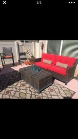 Patio /Outdoor Sofa w Table/Storage Box in Yucca Valley, California
