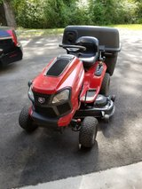"""craftsman 48"""" mower with bagger in Cherry Point, North Carolina"""