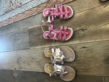 Girls sandals in 29 Palms, California