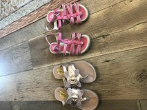 Girl sandals in 29 Palms, California