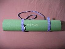 Gaiam Yoga Mat with Velcro Carrying Strap in Chicago, Illinois