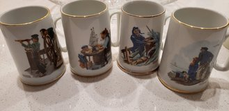 Norman Rockwell mugs, in Conroe, Texas