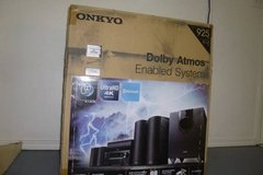 Onkyo 6 Speakers, Receiver all in box, brand NEW! Great gift, Powerful, top of the line Home The... in Houston, Texas