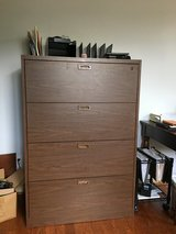 Four drawer lateral file cabinet in Houston, Texas