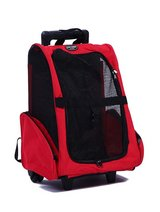 Pet carrier travel rolling backpack in Alamogordo, New Mexico