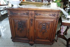 gorgeous tiger oak buffet from the 1800's in Wiesbaden, GE