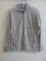 NEW W/ TAGS WOMEN'S GRAY ZIP -UP JACKET-MEDIUM in DeKalb, Illinois