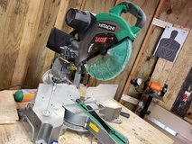 Hitachi C12FDH 15 Amp 12-Inch Dual Bevel Miter Saw with Laser in Clarksville, Tennessee