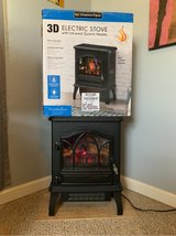 Infrared electric stove heater in Yucca Valley, California