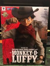 Banpresto One Piece Treasure World Journey - Monkey D Luffy in Okinawa, Japan