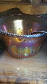 Carnival Glass Punch Bowls with Cups in Spring, Texas