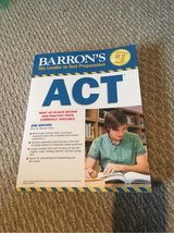 Barron's ACT prep in Naperville, Illinois