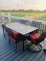 Patio Set - 6 chairs in Fort Riley, Kansas