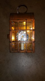 Hand Crafted Copper Lantern wall Mounting type. in Alamogordo, New Mexico