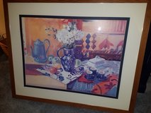 Large Picture, Double matted, wood frame in Chicago, Illinois