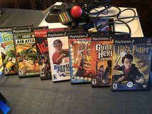 PS2 in excellent condition - Guitar Hero and other games included in Batavia, Illinois