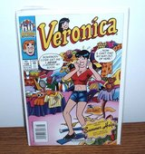"New RARE 60th Anniversary Archie Comic Book ""Veronica"" Dated 8/2002 No. 128 in Morris, Illinois"