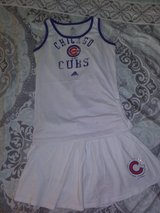 Chicago Cubs Girls Size 10/12 Tank and Skort in Yorkville, Illinois