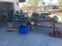 yard sale Saturday and Sunday in Yucca Valley, California