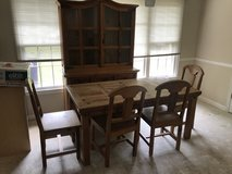 Farmhouse Table and Hutch in Fort Belvoir, Virginia