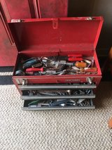 Box and tools in Spring, Texas