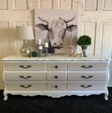 French Dresser- white/sackcloth in Kingwood, Texas