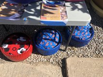 Reclaimed tire dog bed in Alamogordo, New Mexico