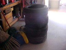 4 USED TIRES 205/55/R16 in Yucca Valley, California