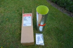 "New Velux ZTR 0K14 0062 0.6m Rigid Extension for 14"" Sun Tunnel clips and screws in Lakenheath, UK"
