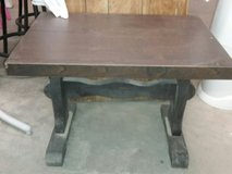 solid wood end table. in Fort Polk, Louisiana