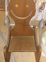solid wood old time rocking chair in Fort Polk, Louisiana