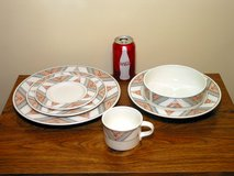 48pc Mikasa Santa Fe Dinnerware Set + Extras in Westmont, Illinois