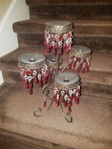 Large / Red Candelabra in Fort Campbell, Kentucky