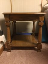 Wooden End Table in Fort Campbell, Kentucky