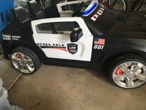 Police car / power wheels in Naperville, Illinois