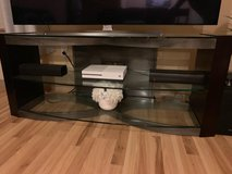 "60"" Glass TV Stand in Kingwood, Texas"