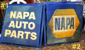 Antique NAPA Signs in Beaufort, South Carolina
