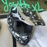 ONLY $50 each obo MOTOCROSS HELMETS CLOSE SEE PICS FOR SIZES in Lemoore NAS, California