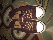Burgundy converse in Yucca Valley, California