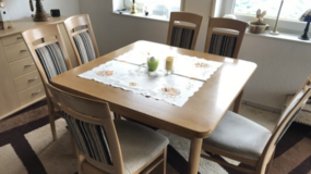 Table plus chairs in Ramstein, Germany