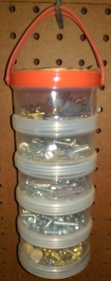 Tool Storage Cylinder – 5 Sections REDUCED PRICE in Houston, Texas