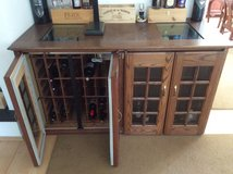 Wine Cellar Credenza furniture cabinet with cooling unit 200+bottle capacity in Wiesbaden, GE