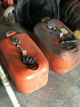 Pair of Six Gallon Boat Gas Tanks in Fort Campbell, Kentucky