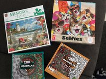Unopened puzzles in Ramstein, Germany