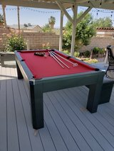 pool table with table tennis and bench in 29 Palms, California